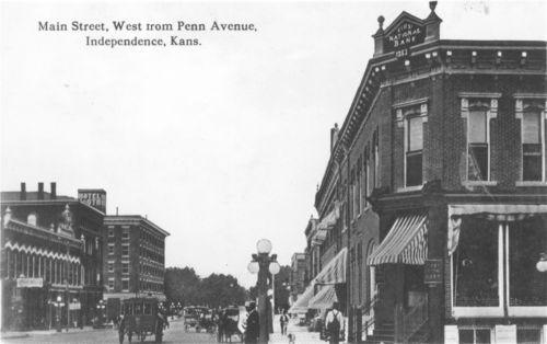 Main Street, Independence, Kansas - Page