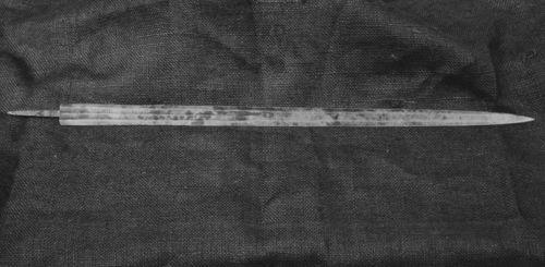 """""""Coronado"""" sword - Page"""