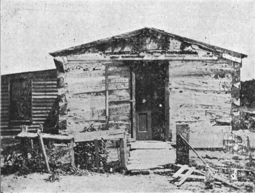 Log cabin, Lincoln, Kansas - Page