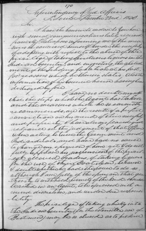 William Clark to John H. Eaton - Page
