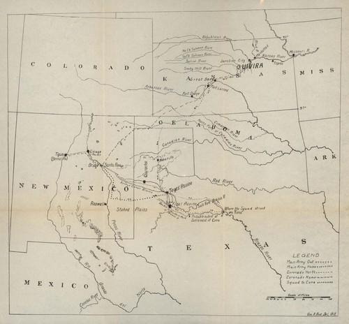 Route of Coronado between the Rio Grande and Missouri rivers - Page
