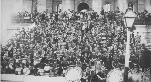 Kansas town bands at the State Capitol, Topeka, Kansas - Page
