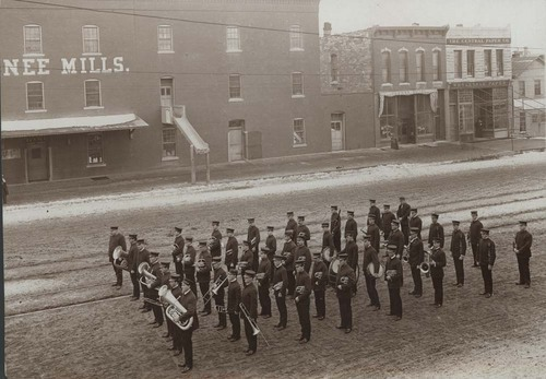 Marshall's Band, Topeka, Kansas - Page