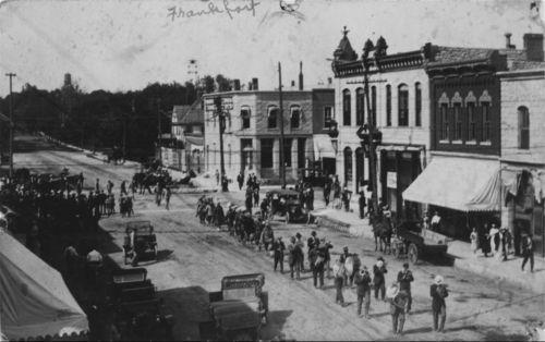 Marysville Band in Frankfort, Kansas - Page