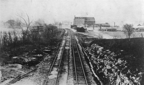 Atchison, Topeka & Santa Fe Railway Company depot, De Soto, Kansas - Page