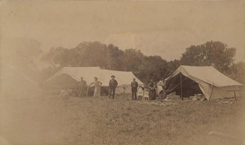 Wichita & Western construction camp - Page