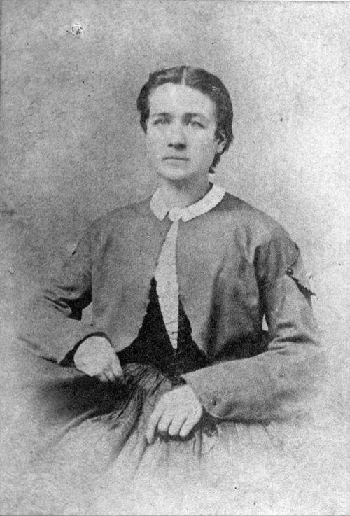 Portrait of Lucy B. Hobbs Taylor, 1860s