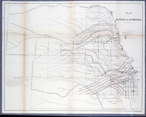 Kansas and Nebraska map - Page