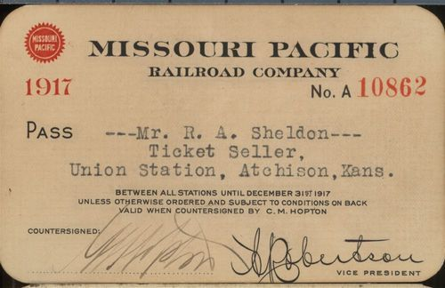 Missouri Pacific Railroad passes - Page