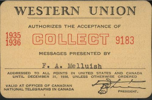Western Union pass - Page