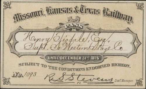 Missouri- Kansas- Texas Railroad passes - Page