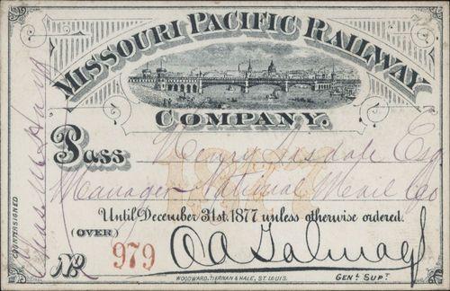 Missouri Pacific Railroad passes - Page