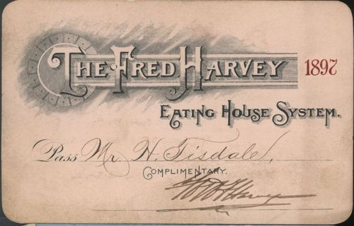 Fred Harvey system passes - Page