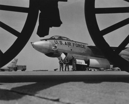 B-47 bomber, Schilling Air Force Base, Salina, Kansas - Page