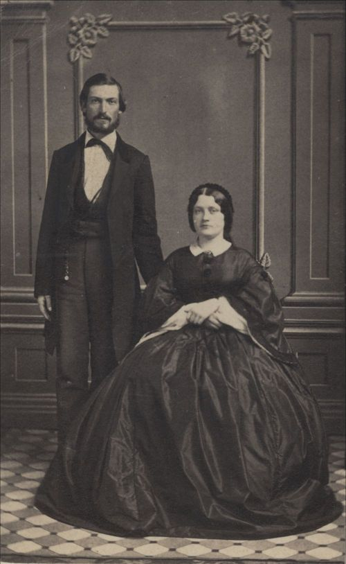 Albert Howell Horton & wife - Page