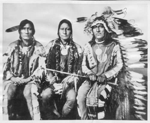 White Antelope, Man on a Cloud, and Little Chief - Page