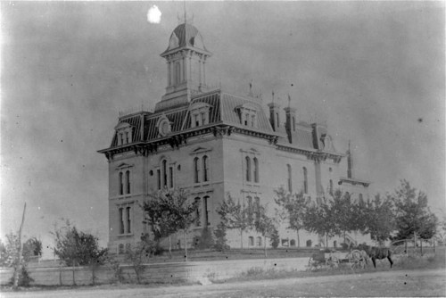 Chase County Courthouse, Cottonwood Falls, Kansas - Page