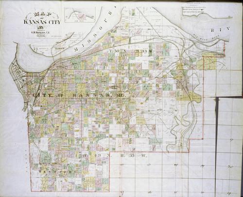 Map of Kansas City, Missouri - Page