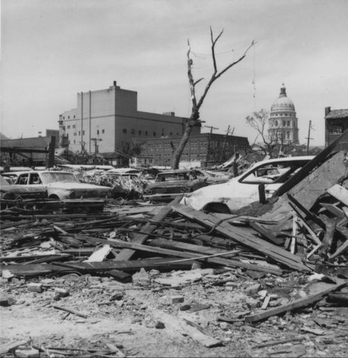 Tornado damage, Topeka, Kansas - Page