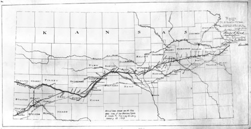 Route of the old Santa Fe Trail - Page
