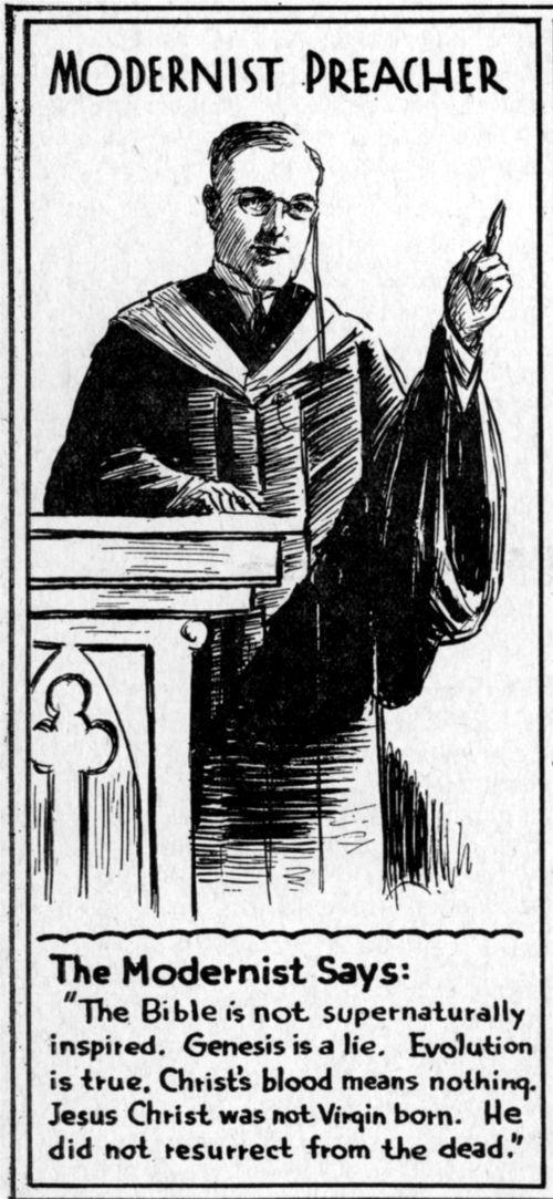 Modernist Preacher - Page