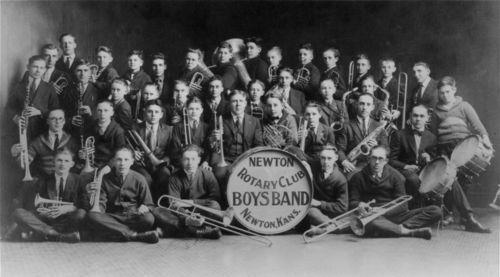 Newton Rotary Club Boys Band, Newton, Kansas - Page