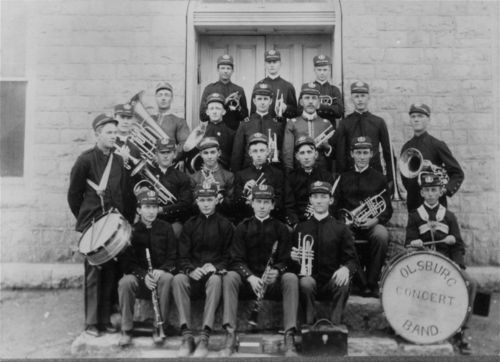 Olsburg Concert Band, Olsburg, Kansas - Page