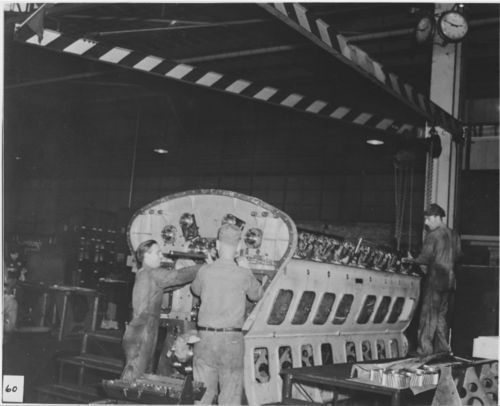 Atchison, Topeka and Santa Fe Railway Company's G-M diesel engine - Page