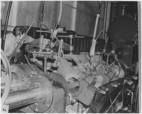 Manufacturing electrical equipment used in AT&SF diesel locomotives - Page