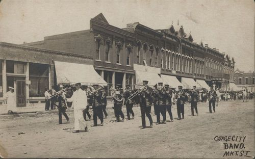 Osage City band in Osage City, Kansas - Page