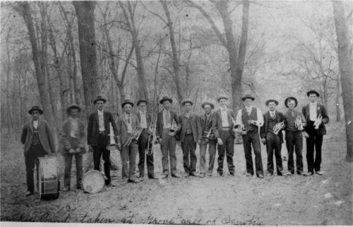 Ozawkie Band, Ozawkie, Kansas - Page