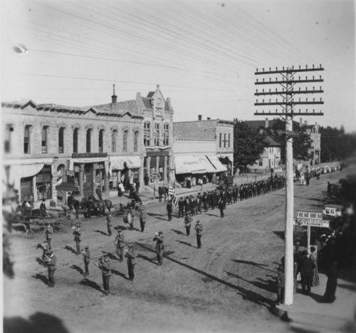 Pawnee Bill Parade, Marion, Kansas - Page