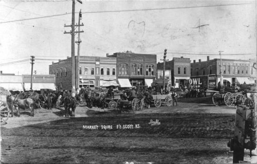 Market Square, Fort Scott, Kansas - Page