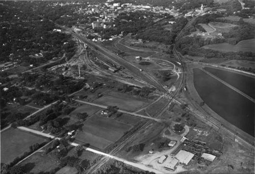 St. Louis-San Francisco railroad lines, Fort Scott, Kansas - Page