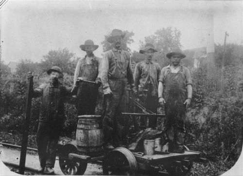 Atchison Topeka & Santa Fe Rairoad section workers - Page