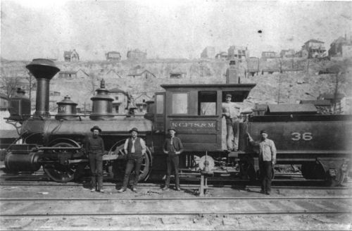Kansas City, Fort Scott & Memphis Railroad steam locomotive #36 - Page