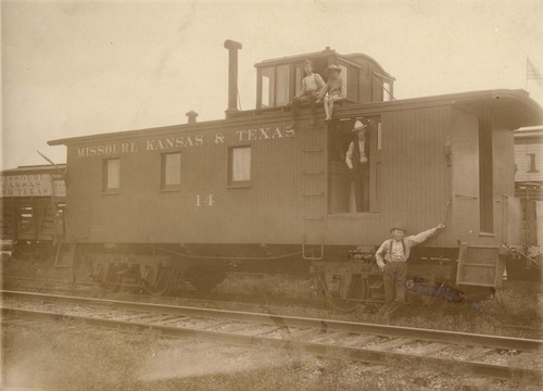 Missouri- Kansas-Texas Railroad caboose - Page