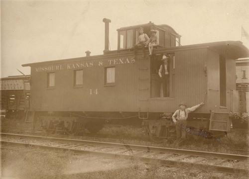 Missouri- Kansas-Texas Railroad caboose - Page