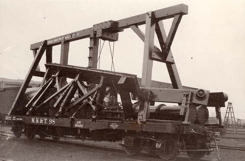Missouri- Kansas- Texas Railroad dirt leveler - Page