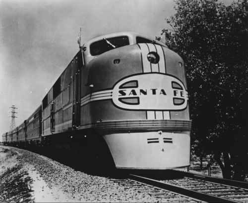 Atchison, Topeka & Santa Fe Railway Company's diesel locomotive - Page