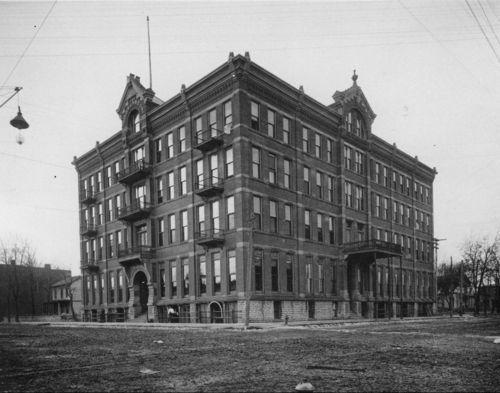 Goodlander Hotel, Fort Scott, Kansas - Page