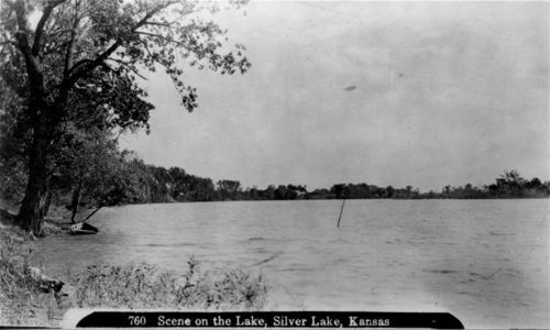 Lake at Silver Lake, Kansas - Page