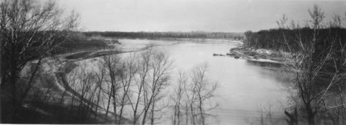Oregon Trail crossing on Kansas River - Page