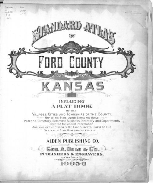 Standard atlas of Ford County, Kansas - Page
