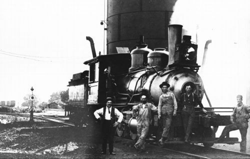 Steam-powered locomotive engine, Guthrie, Oklahoma - Page