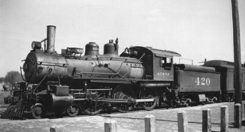 Steam-powered locomotive engine, Shawnee, Oklahoma - Page