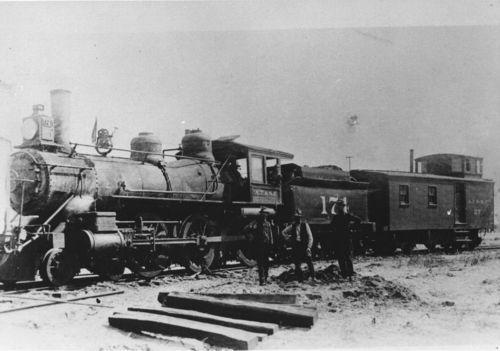 Atchison, Topeka & Santa Fe Railway Company's locomotive engine #174 - Page