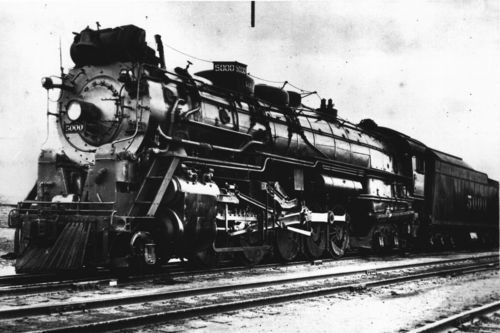 "Atchison, Topeka & Santa Fe Railway Company's ""Madam Queen"" - Page"