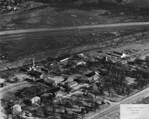 Aerial view of the State Industrial School for Boys - Page