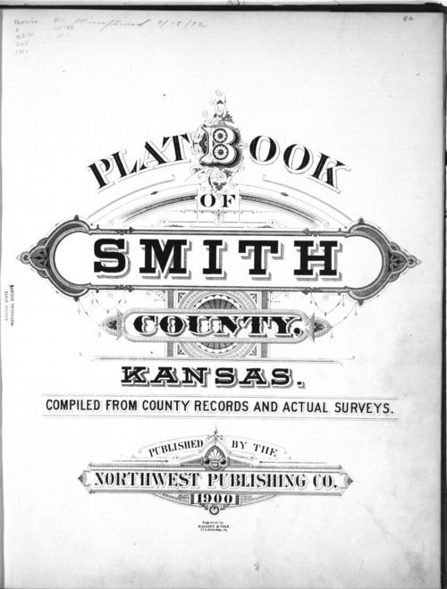 Plat book, Smith County, Kansas - Page